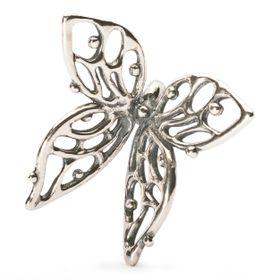 Trollbeads Big Butterfly Pendant - Silver