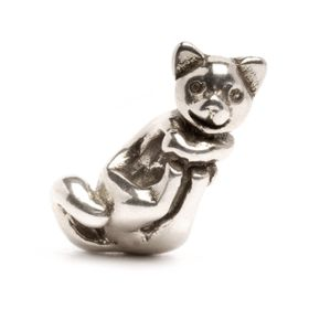 Trollbeads Big Cat Sterling Silver Bead