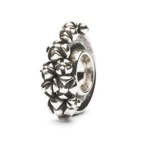Trollbeads Bougainvillea Sterling Silver Bead