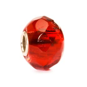 Trollbeads Bright Red Prism Glass