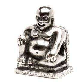 Trollbeads Buddha Sterling Silver Bead