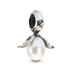 Trollbeads Budding Pearl Spacer Sterling Silver & Pearl
