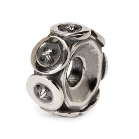 Trollbeads Buttons Sterling Silver Bead