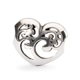 Trollbeads Caring Light Sterling Silver Bead