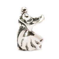 Trollbeads Dancing Sterling Silver Bead