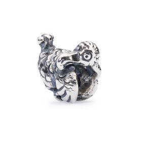 Trollbeads Dodo Sterling Silver Bead