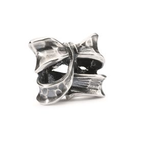 Trollbeads Double Bow Sterling Silver Bead
