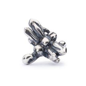 Trollbeads Dragonfly Sterling Silver Bead