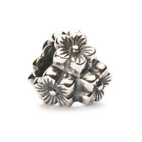 Trollbeads Elderflower Pendant Silver
