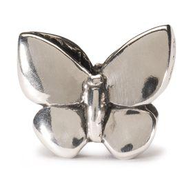Trollbeads Fantasy Butterfly Pendant - Silver