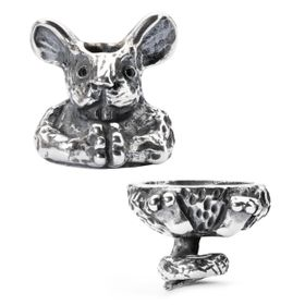 Trollbeads Fantasy Mouse Pendant -  Silver