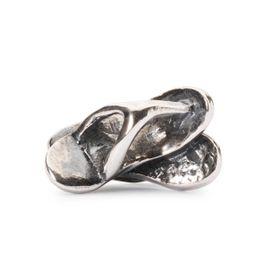 Trollbeads Flip Flops Sterling Silver Bead