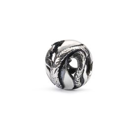Trollbeads Freedom Feather Sterling Silver Bead