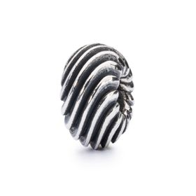 Trollbeads Gentle Wave Sterling Silver Bead