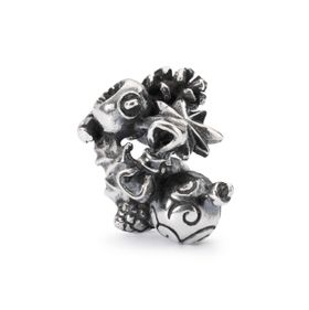 Trollbeads Go Christmas Crazy Sterling Silver Bead