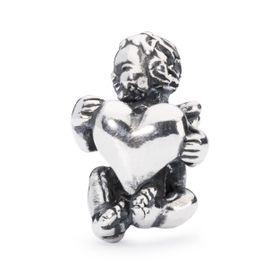 Trollbeads Guardian of Hearts Sterling Silver Bead