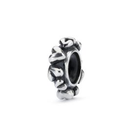 Trollbeads Heart Spacer Sterling Silver Spacer
