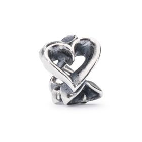 Trollbeads Hearts Galore Sterling Silver Bead