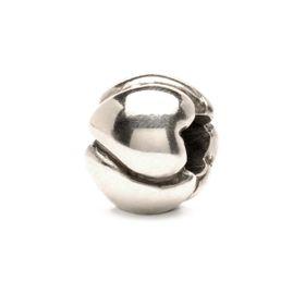 Trollbeads Hearts - Big Sterling Silver Bead