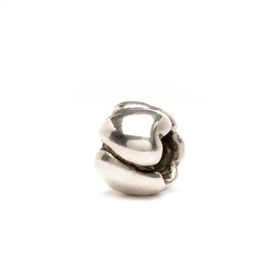 Trollbeads Hearts - Small Sterling Silver Bead