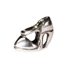 Trollbeads High Heel Sterling Silver Bead