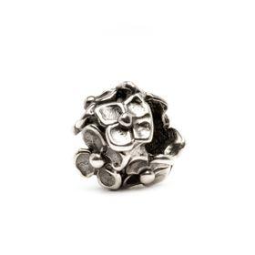 Trollbeads Hydrangea Sterling Silver Bead