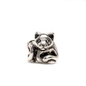 Trollbeads Kitten Sterling Silver Bead