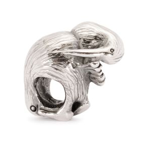 Trollbeads Kiwi Bird Sterling Silver Bead