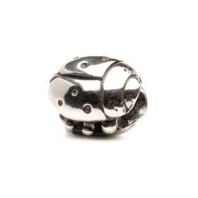 Trollbeads Ladybug Sterling Silver Bead