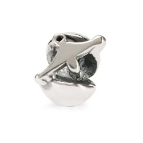 Trollbeads Libra Sterling Silver Bead