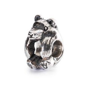 Trollbeads Little Bear Sterling Silver Bead