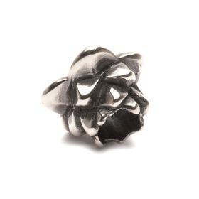 Trollbeads Lotus Sterling Silver Bead