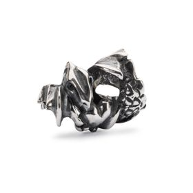 Trollbeads Love Dragon Sterling Silver Bead