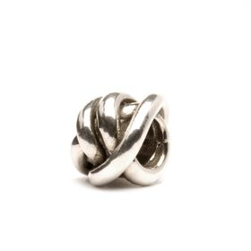 Trollbeads Lucky Knot Sterling Silver Bead