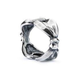 Trollbeads Magic Bow Sterling Silver Bead