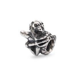 Trollbeads Merman of Wisdom Sterling Silver Bead
