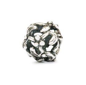 Trollbeads Mistletoe Sterling Silver Bead