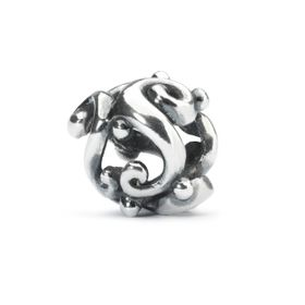 Trollbeads Moonlight Dancing Sterling Silver Bead