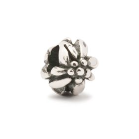 Trollbeads Mountain Flower Sterling Silver Bead