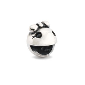 Trollbeads Ms. Ghost Fighter Sterling Silver Bead
