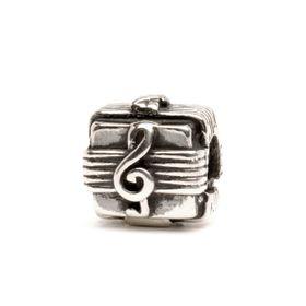 Trollbeads Music Box Sterling Silver Bead