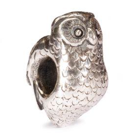 Trollbeads Owl Sterling Silver Bead