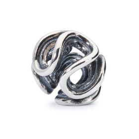 Trollbeads Path of Life Sterling Silver Bead