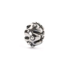 Trollbeads Pumkin Ornament Sterling Silver Bead