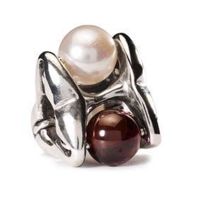 Trollbeads Pure Passion Sterling Silver & Pearl