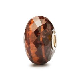 Trollbeads Red Tiger Eye Precious Stone