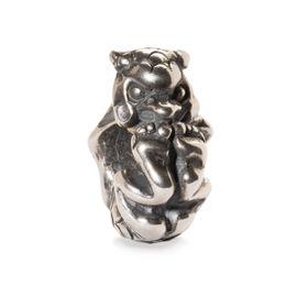 Trollbeads Rolling Troll Sterling Silver Bead