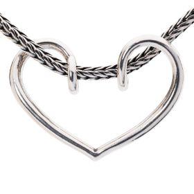 Trollbeads Romance Pendant- Silver