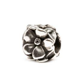 Trollbeads Rose Sterling Silver Bead