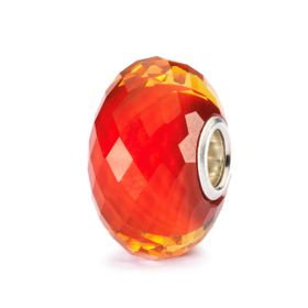 Trollbeads Saffron Facet Glass